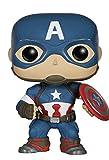 Funko Pop- Marvel: Avengers Age Of Ultron, Captain America Statuetta
