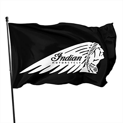 Shenhui Indisches Motorrad Garten Flagge,3x5 Ft?150cm X 639cm?, Frühling, Sommer, Herbst, Garten, Willkommen Hof, Outdoor Decor Garden Flag