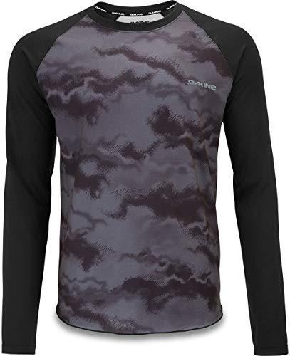 Dakine Herren Trikot Dropout Long Sleeve Jersey, Herren, Schwarz/Dark Ashcroft, Small