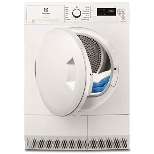Electrolux ew7h4801sc - Secadora con bomba de calor (60 cm, 8 kg), color blanco