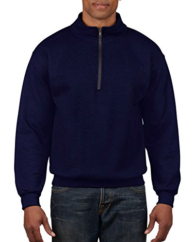 Men High Collar Sweater