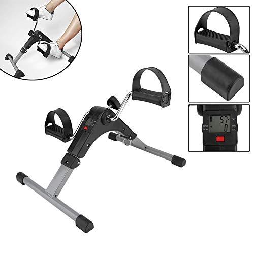 DOOKK Portable Pedal Exerciser, Best Arm Leg Exercise Peddler Machine Mini Spinning Bike LED Screen Display