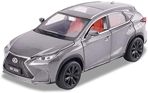 zxwd Modelo de automóvil Lexus NX200T Vehículo 01:32 Simulación de fundición a presión de aleación Modelo estático de Coches de Juguete