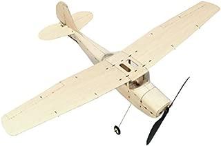 LaDicha 10 Pcs DIY Mousse /Élastique Propuls/é Planeur Avion Jouet Thunderbird Vol Mod/èle Avion Jouet