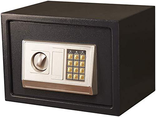 YDHBD Caja Fuerte Pequeña Electrónico Contraseña Digital Caja De Cajas Fuertes para La Oficina En Casa Almacenamiento En Efectivo, Los 35 * 25 * 25Cm