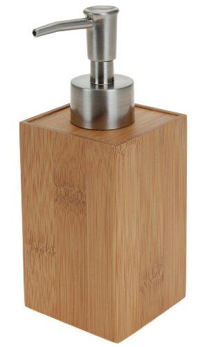 Noble distributeur de savon de BAMBOU - Stockage de savon