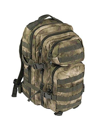 Mil-Tec Us Assault Pack - Mochila tipo militar Unisex, Beige, S