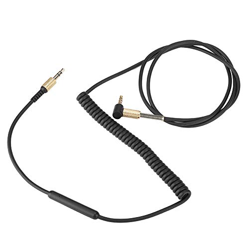 Queen.Y 3. 5 Mm Headset-Kabel Kopfhörer Mikrofonkabel Haltbares Headset-Mikrofonkabel für Marshall Ii