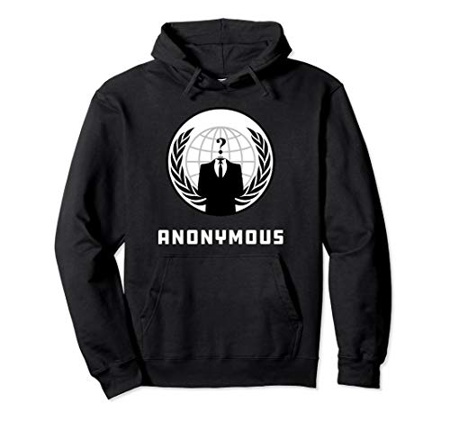 Anonymous Hacker Culture Pullover Hoodie