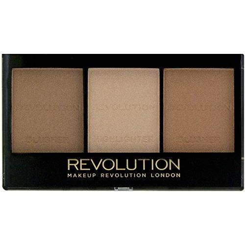 Makeup Revolution London Ultra Sculp Contour Kit C04 Light-Medium Paleta de contorno facial (5029066043504)