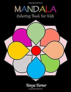 Mandala Coloring Book for Kids: Coloring Book for Kids with Fun, Easy, and Relaxing Mandalas for Boys, Girls, and Beginners