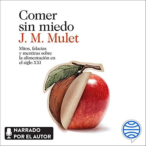 Diseño de la portada del título Comer sin miedo