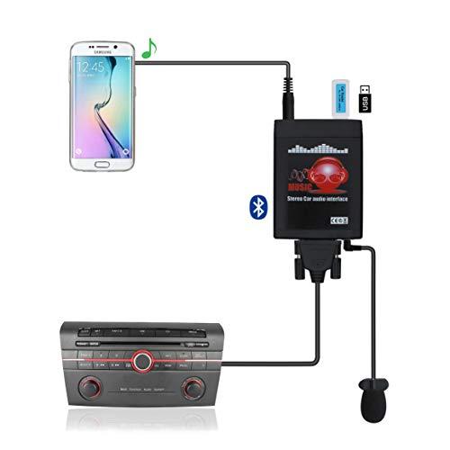 Bluetooth Car Kit, Car Stereo MP3 USB AUX 3.5mm...
