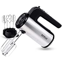 Octavo Stainless Steel 5-Speed 300W Electric Hand Mixer