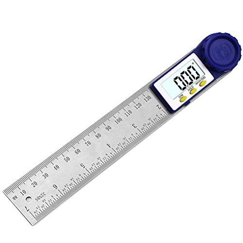 RongWang Digital prolongador de 200 mm de 7 Pulgadas Medidor de ángulos Digital prolongador Regla inclinómetro goniómetro de ángulo Nivel Electrónico