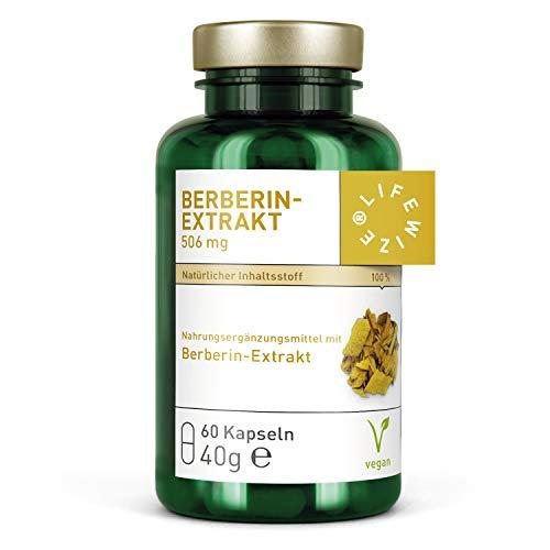 LifeWize® Berberin Extrakt Hochdosiert 506mg Berberin - Vegan & Ohne Zusätze