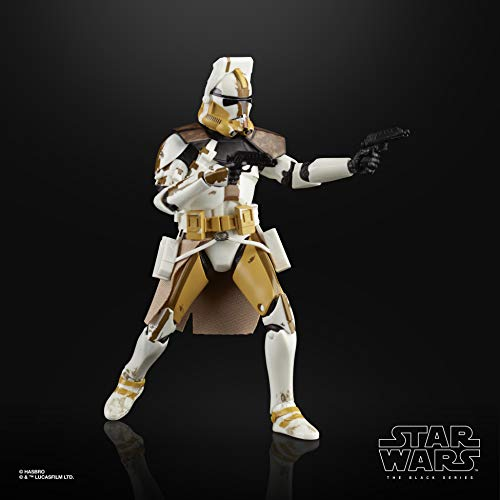 Star Wars The Black Series Clone Commander Bly Toy 6-inch Scale The Clone Wars Collectible Action Figure, Kids Ages 4 and Up