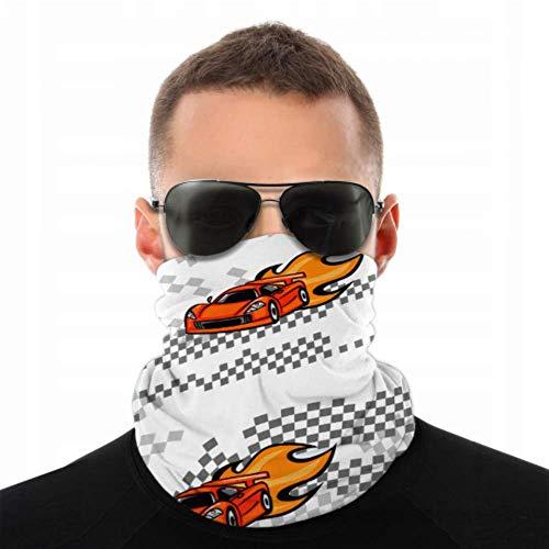 NVIKGRHF Bandana máscara facial Speed Sport Racing Cars repetidos pasamontañas máscara facial para niños, antipolvo, multifuncional, para festivales de música/Raves/equitación/al aire libre/deportes