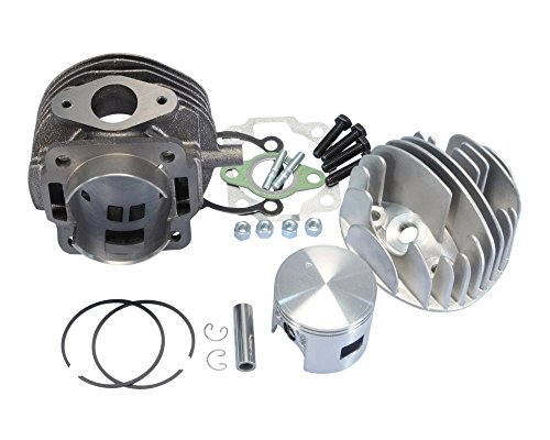 Polini Kit cylindre en fonte grise Sport 115 cm3 57,5 mm pour Ape 50, Vespa PK 50, Special 50, XL 50
