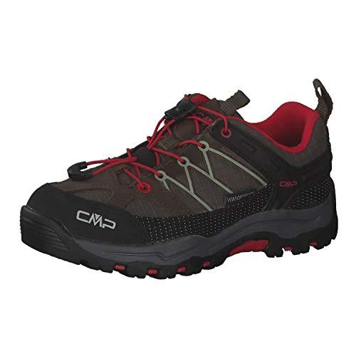 CMP Kinder Trekking Schuhe Rigel Low 3Q54554 Wood-Brick 33