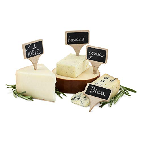 True Wooden Cheese Markers, 1 EA, Natural