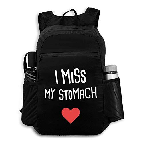 Suyu Stephanie Funny Gastric Bypass Chirurgie Get Well Rucksack Faltbarer Rucksack Tragbare Aufbewahrungstasche Wandern Tasche Wandern Freizeit Tasche