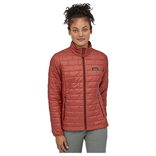 Patagonia W's Nano Puff Jkt, Giacca Donna, Rosso (Spanish Red), L