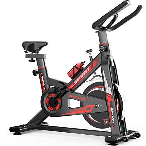 SYue Spinning Bike Home Cardio Workout Fahrradtraining Indoor Cycling Bike Belt Drive Stationäres Fahrrad für Home Office Gym Fitnessgeräte