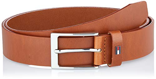 Tommy Hilfiger Herren Layton Leather 3.5 Gürtel, Braun (Cognac Gb8), 95 (Herstellergröße: 105)
