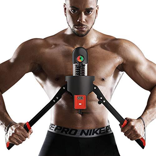 JHKJ Macchina per L'allenamento del Torace E del Braccio Super - Allenamento della Parte Superiore del Corpo e Allenamento della Forza - Attrezzatura Portatile per L'esercizio Domestico,0_160kg