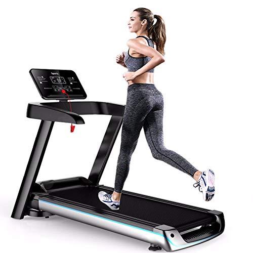 JJGS Elektrische loopband, inklapbaar, compacte treadmill, thuisgebruik, tafelloopband, krachtige 2,5-ps-motor, snelheidsinstelling van 1 tot 12 km/u, loopbereik 1024 x 400 mm, belasting 120 kg