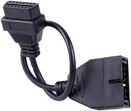 beler 12 Pin OBD1 to 16 Pin OBD2 Convertor Adapter Cable Fit for GM Car Diagnostic Scanner product image