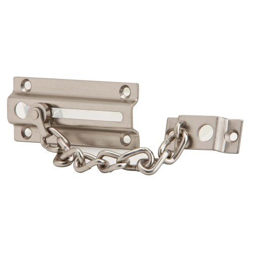 Ives by Schlage 481F15 Chain Door Guard, Satin Nickel