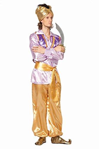 Herren Kostüm 1001 Nacht Orient Sultan Weste Karneval Fasching Gr.60