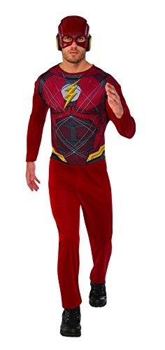 Marvel - Disfraz de Flash para hombre, Talla M adulto (Rubie's 820961-M)