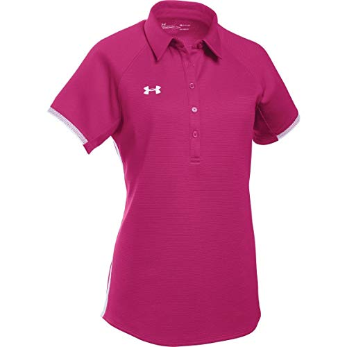 Under Armour UA Rival Polo LG Tropic Pink