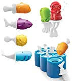 Mini moldes de silicona para helado, paletas de helado, sin BPA, para hacer helado, hacer helados, herramientas maravillosas para fiestas y uso alimentario