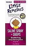 Little Remedies Little Noses Saline newborn to adult Spray/Drops - 1 pk