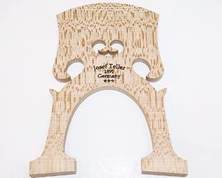 Joseph Teller 1891 Germany 4/4 Cello Bridge Belgian Model 90mm Foot Measure, Finest Old Select Bosnian Maple VWWS