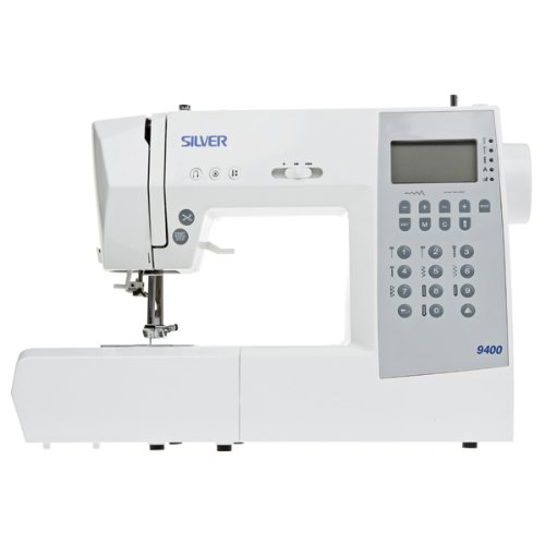 Silver 9400E 341 Stitch Sewing Machine