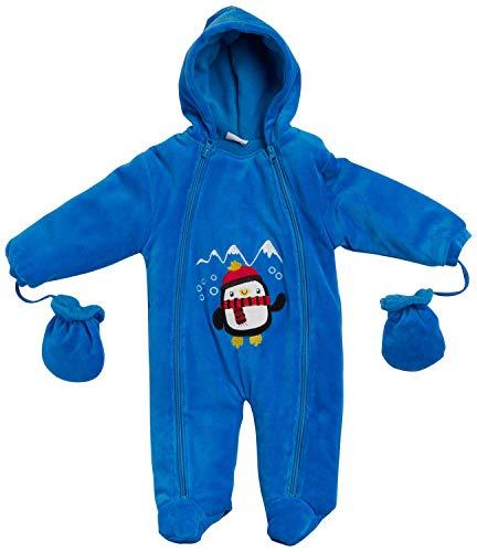 Sweet and Soft Boys - Cochecito de nieve con manoplas (recién nacido/bebé) - - 18 meses