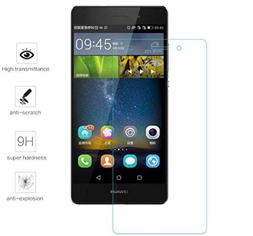 Protector antigolpes de pantalla de cristal templado para Huawei P8 LITE