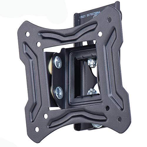 Amazon Basics - Soporte de pared basculante y giratorio, para televisión, de 33 a 58,4 cm (13-23