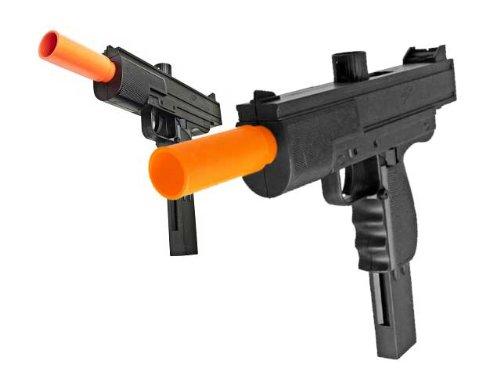 bbtac bbtac-m36-(x2) dual spring smg's 250 fps airsoft gun (2-pack)(Airsoft Gun)