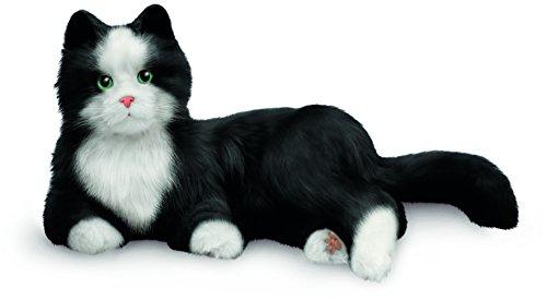 JOY FOR ALL, Zeitlose, Innovative Haustier-Begleiter, Tuxedo-Katze, lebensecht & realistisch, Schwarz / Weiß