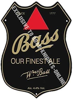 Bass Bitter Mejor ALE. Rojo triángulo. Bar Anuncio Cerveza ...