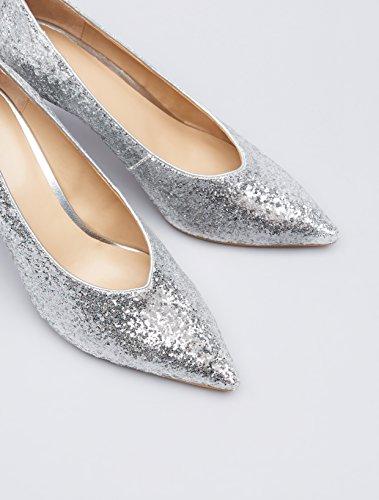 find. Glitter Court, Women's Pumps Courts, Silver (Silver), 6 UK (39 EU)