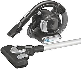 BLACK+DECKER, BDH2020FLFH MAX, aspiradora flexible de litio de 20 V, con palo para aspirar y cabezal para piso y cepillo para polvo y pelo de mascotas, sin cable