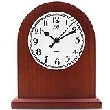 KQP Reloj De MantoReloj Chimenea Reloj Silencio Reloj De Escritorio Dormitorio Reloj De CuarzoDecoración Hogare?a