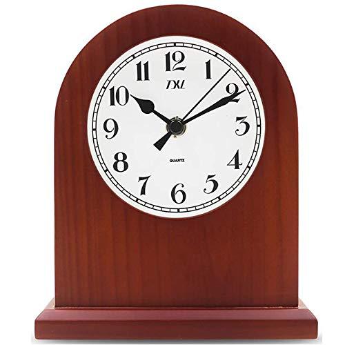 KYEEY Reloj De Manto Reloj Chimenea Reloj Silencio Reloj De Escritorio Dormitorio Reloj De Cuarzo Decoración Hogare?a